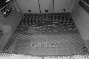 Gumové vany do kufru Audi Q8