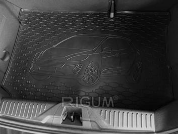 Gumové vany do kufru Ford Fiesta 01/2017-