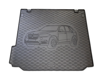 Gumové vany do kufru BMW X5 02/2007-06/2013