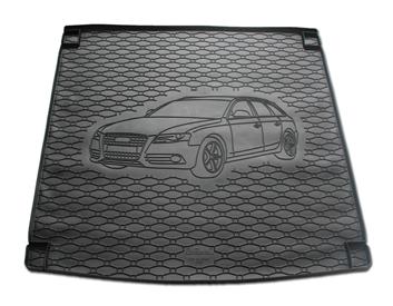 Gumové vany do kufru Audi A4 05/2007-12/2015