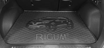 Gumové vany do kufru Renault Kadjar 06/2015-