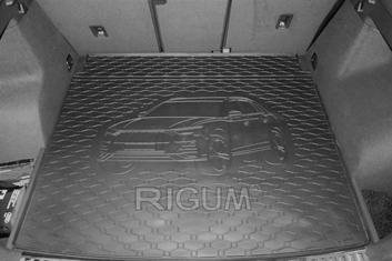 Gumové vany do kufru Audi Q3 07/2018-