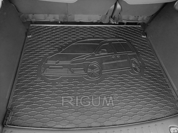 Gumové vany do kufru Volkswagen Caddy 03/2004-