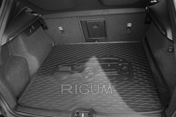 Gumové vany do kufru Volvo XC40