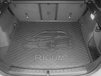 Gumové vany do kufru BMW 2 series 11/2013-