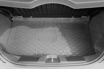 Gumové vany do kufru Fiat 500