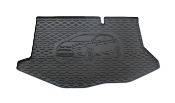 Gumové vany do kufru Ford Fiesta 06/2008-12/2016