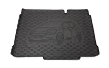 Gumové vany do kufru Opel Corsa 09/2014-