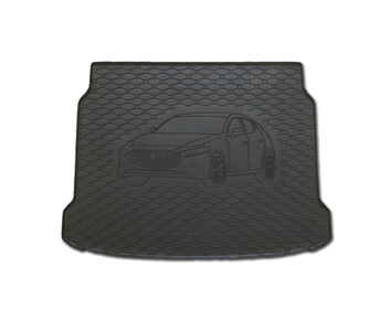 Gumové vany do kufru Mazda 3 01/2019-