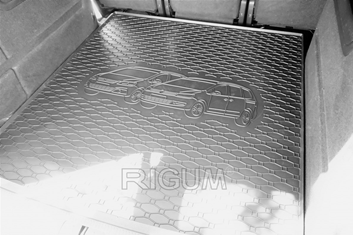 Gumové vany do kufru Volkswagen Sharan 05/2010-