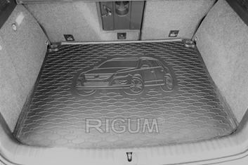 Gumové vany do kufru Volkswagen Tiguan 09/2007-12/2015