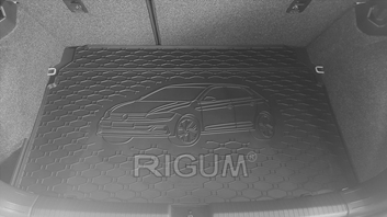 Gumové vany do kufru Volkswagen Polo 06/2017-