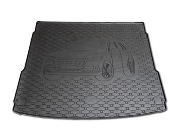 Gumové vany do kufru Audi Q5 06/2016-