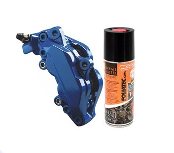 FOLIATEC dvousložková barva na brzdy ve spreji modrá