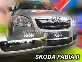 Zimní kryt chladiče Škoda Fabia II HB/Combi r.v. 2007-2010 horní