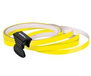 Samolepící proužky na obvod kola Foliatec - žlutá