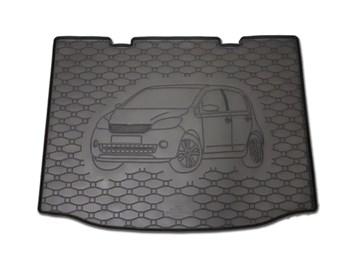 Vana do kufru gumová RIGUM Škoda Citigo 2011- dolní