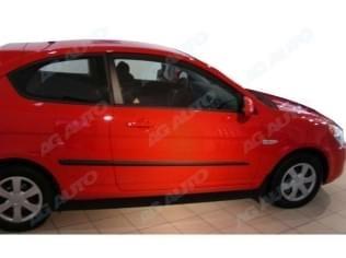 Ochranné boční lišty na dveře, Hyundai Accent III, 2006->2011, 3 dveř.