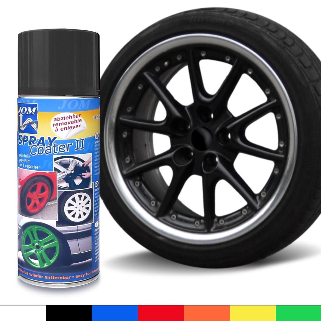 Plastic dip sprej style 450ml - tekutá guma ve spreji černý matný