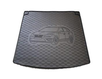 Vana do kufru gumová RIGUM Seat Leon ST (combi) 2014- horní + dolní