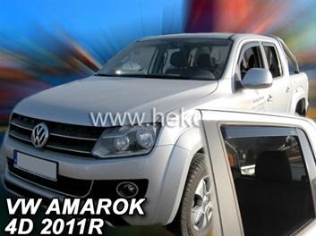 Ofuky oken přední + zadní VW Amarok 4dv. od r.v. 2011