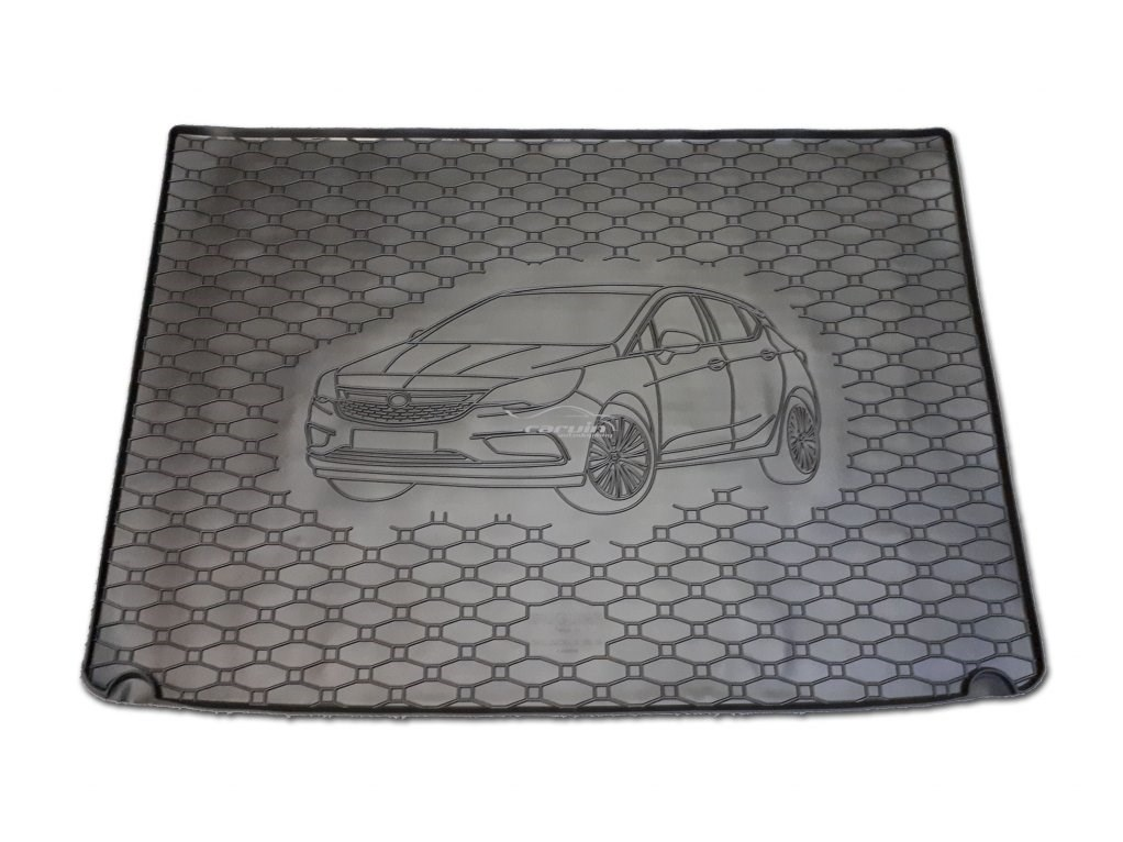 Vana do kufru gumová Opel Astra K HB s rezervou od r.v. 2015 s logem auta