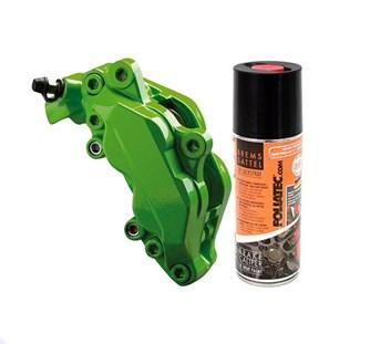 FOLIATEC dvousložková barva na brzdy ve spreji zelená (Power green)