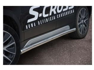 Trubkový boční rám nerez SUZUKI SX4 S-CROSS