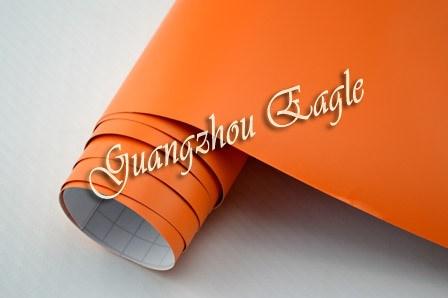 Fólie oranžová matná plastická 150x180cm samolepící