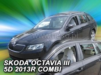 Ofuky oken Škoda Octavia III Combi 5dv od r.v. 2013 přední+zadní
