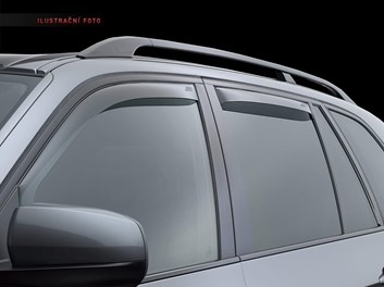 Ofuky oken VW Passat B8 (3G) Sedan od r.v. 2014 přední + zadní