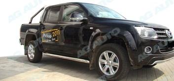 Ochranné boční lišty dveří VW Amarok od r.v. 2009