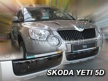 Zimní kryt chladiče Škoda Yeti od r.v. 2009 spodní