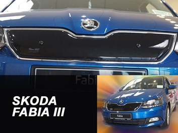Zimní kryt chladiče Škoda Fabia III od r.v. 2014 horní