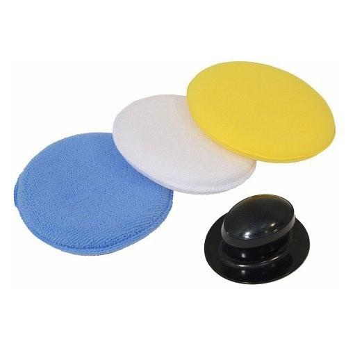 Pěnový aplikátor 3 kusy na leštění a voskování laku auta
