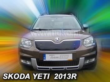Zimní kryt chladiče Škoda Yeti 5dv od r.v. 2013 po faceliftu