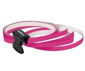 Samolepící proužky na obvod kola Foliatec - růžová