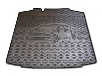 Vana do kufru gumová Seat Toledo od r.v. 2013 s logem auta