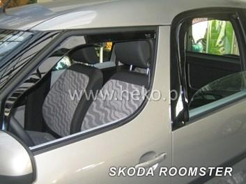 Ofuky oken Škoda Roomster od r.v. 2006 přední + zadní