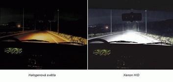 Xenon žárovky H4 5500K 100w do originál patice H4 stačí vyměnit