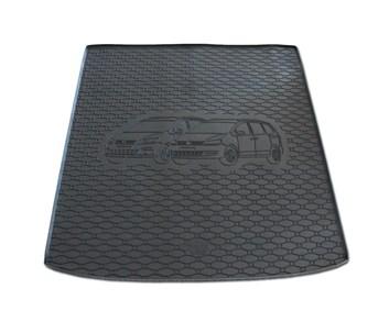 Vana do kufru gumová RIGUM Volkswagen Sharan 5 místný 2010- 7 místný - 3. řada sklopená