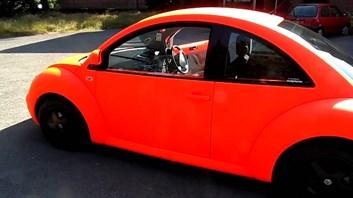 Plasti Dip sprej style neonová červená svítívá tekutá guma 450ml
