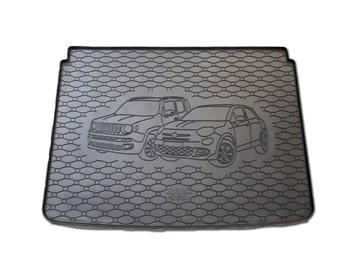 Vana do kufru gumová RIGUM Fiat 500X 2015- horní i dolní poloha