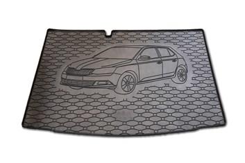 Vana do kufru gumová RIGUM Škoda Fabia III HB 2014-