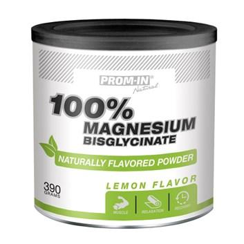 Prom-In 100% Magnesium Bisglycinate 390 g lemon
