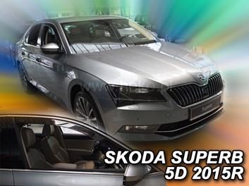 Ofuky oken Škoda Superb III 5dv od r.v. 2015 přední