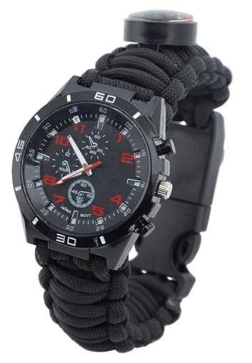 Outdoorové hodinky s teploměrem