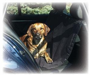 Autopotah pro psa na zadní sedačky, extra pevný dvouvrstvý