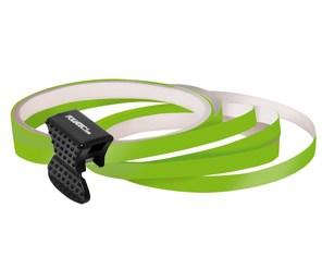 Samolepící proužky na obvod kola Foliatec - zelená
