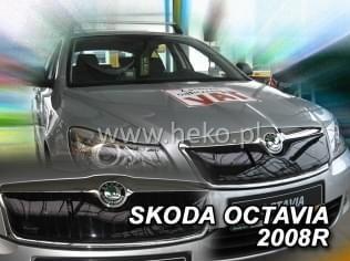 Zimní clona - kryt chladiče, Škoda Octavia II, 2008 - 2013, po faceliftu, Combi / Limousine